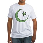 Islamic Symbol Fitted T-Shirt