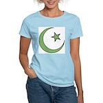 Islamic Symbol Women's Pink T-Shirt