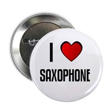 I LOVE SAXOPHONE Button