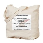 Koran Quote Tote Bag