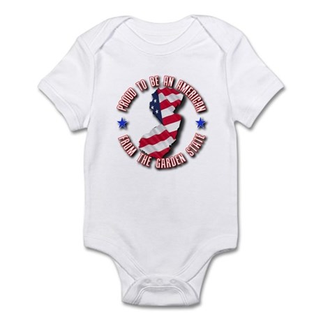 Patriotic New Jersey Infant Bodysuit