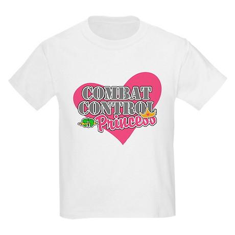 Combat Control Princess Kids Light T-Shirt