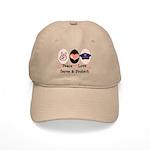 Peace Love Police Officer Cap
