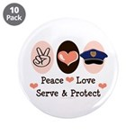 Peace Love Police Officer 3.5