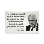 Robert Frost Quote 7 Rectangle Magnet (100 pack)