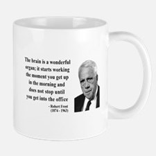 Robert Frost Quote 7 Small Small Mug