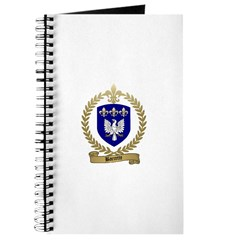 BARRETTE Family Crest Journal