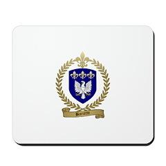 BARRETTE Family Crest Mousepad