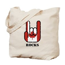 Canada Rocks Tote Bag