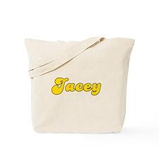 Retro Jacey (Gold) Tote Bag
