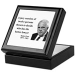 Robert Frost Quote 6 Keepsake Box