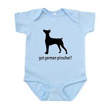 Got German Pinscher? Infant Bodysuit