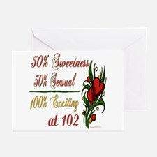 Exciting 102nd Greeting Cards (Pk of 20)