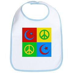 Peace + Islam Bib