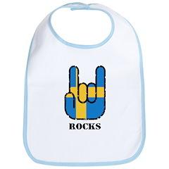 Sweden Rocks Bib