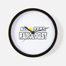 """All Star Radiologist"" Wall Clock"