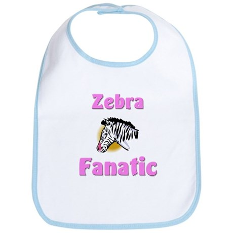 Zebra Fanatic Bib