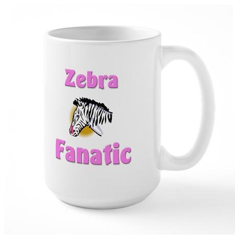 Zebra Fanatic Large Mug
