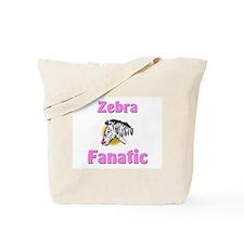 Zebra Fanatic Tote Bag