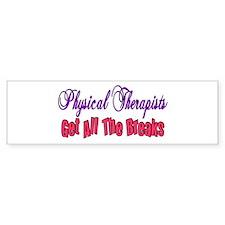 Physical Therapists Bumper Bumper Sticker