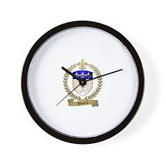 BILODEAU Family Crest Wall Clock
