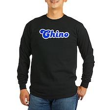 Retro Chino (Blue) T