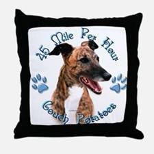 Brindle Couch Throw Pillow