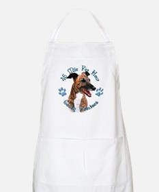 Brindle Couch BBQ Apron