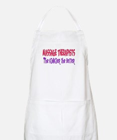 Massage therapists kinkier BBQ Apron