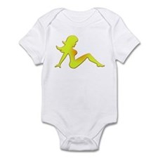 Sunburned Mudflap Girl Infant Bodysuit