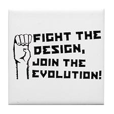 Evolution Revolution Tile Coaster