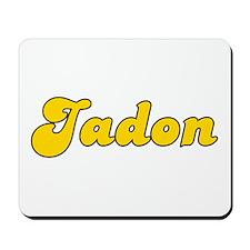 Retro Jadon (Gold) Mousepad