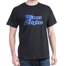 Retro Citrus Heights (Blue) T-Shirt