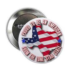"""Patriotic Texas 2.25"""" Button"""