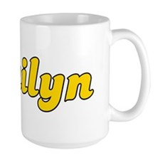 Retro Jailyn (Gold) Mug
