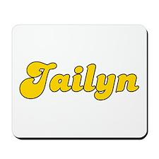 Retro Jailyn (Gold) Mousepad