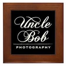 Uncle Bob Photography Framed Tile