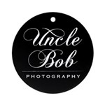 Uncle Bob Photography Ornament (Round)