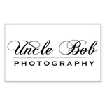 Uncle Bob Photography Rectangle Sticker 10 pk)