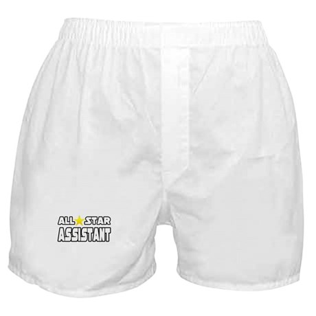 """All Star Assistant"" Boxer Shorts"