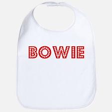 Retro Bowie (Red) Bib