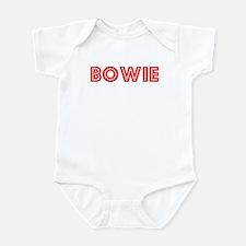 Retro Bowie (Red) Infant Bodysuit