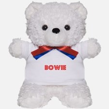 Retro Bowie (Red) Teddy Bear