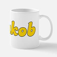 Retro Jakob (Gold) Mug