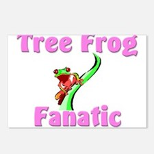 Tree Frog Fanatic Postcards (Package of 8)