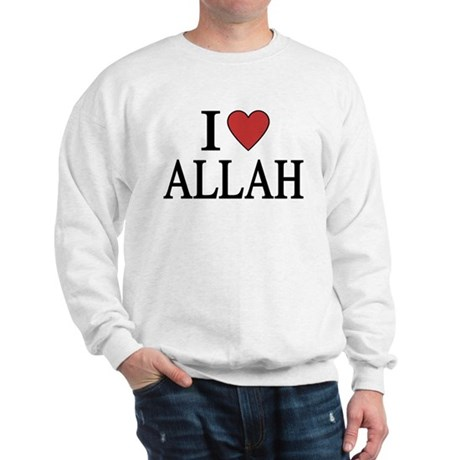 I Love Allah Sweatshirt