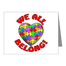 We All Belong! Note Cards (Pk of 10)
