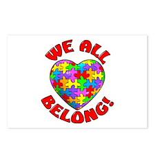 We All Belong! Postcards (Package of 8)