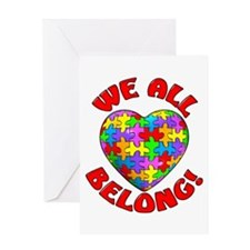 We All Belong! Greeting Card