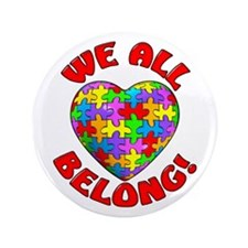 "We All Belong! 3.5"" Button"